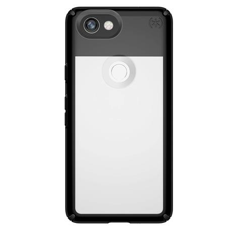 new product 0e431 dfbf0 Speck Presidio Show Case for Google Pixel 2 XL, Clear/Black 105273-5905