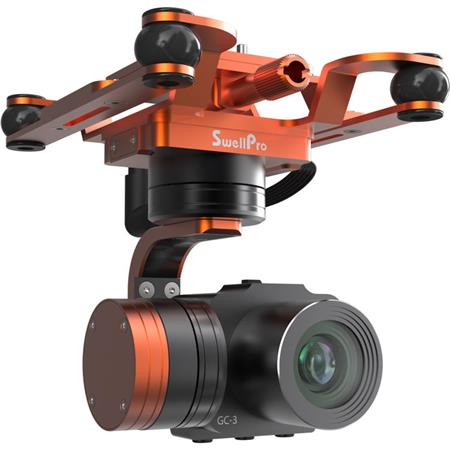 Swellpro Waterproof 3-Axis 4K Gimbal Camera for SplashDrone 3 ...
