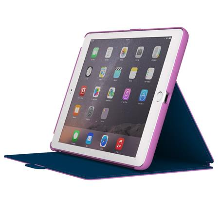 new styles 6b29b 6aeb4 Speck StyleFolio Case for iPad Air 2, Beaming Orchid/Deep Sea