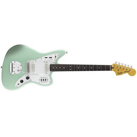 squier vintage modified jaguar electric guitar surf green 0302000557. Black Bedroom Furniture Sets. Home Design Ideas