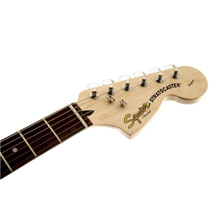 Squier Standard Stratocaster Electric Guitar, 22 Frets, C Shape Neck,  Rosewood Fingerboard, Passive Pickup, Polyurethane, Cherry Sunburst