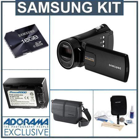 samsung hmx h300 full hd camcorder black bundl hmx h300bn xaa a rh adorama com Samsung Schneider-Kreuznach Camcorder Samsung Ois Duo Camcorder Battery Charger