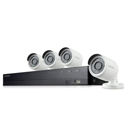 Samsung SDH-B74041 8 Channel Full HD DVR Security System with 1TB HDD,  Includes 4x Camera and Remote Control