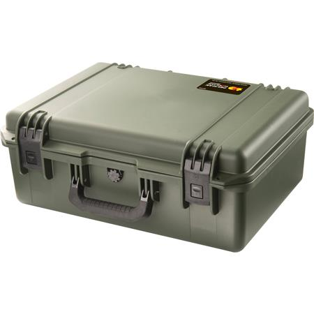 Pelican iM2600 Case, Watertight, Padlockable Case, No Foam or Divider  Interior, Olive Drab