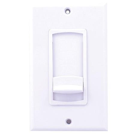 Speco Technologies 100W Impedance Matching Slider Volume Control, White