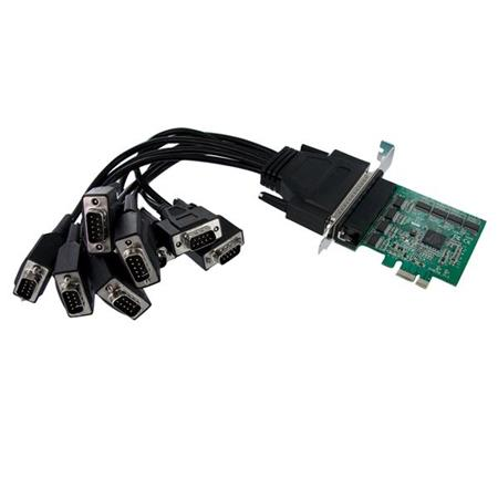 16950-2 X 9-pin Db-9 Male Rs-232 2 Port Low Profile Pci Express Serial Card