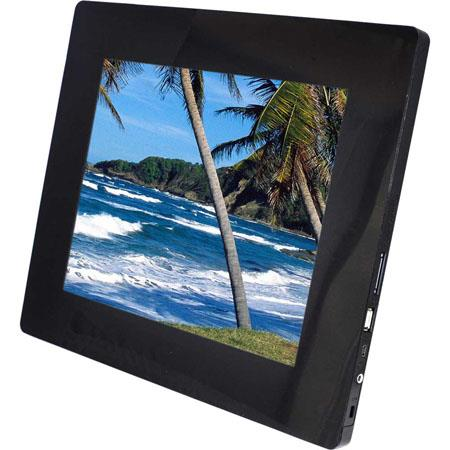 Sunpak 12 Inch Digital Photo Frame 800x600 Resolution Black Sf 121