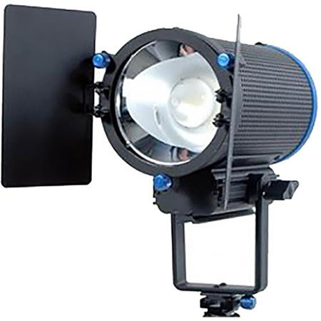 Smith Victor Cooled20 200w Portable Led Studio Light With Barndoors And 2x Filters 5200k Color Temperature