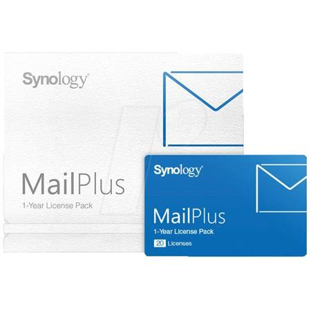 Synology MailPlus License Pack for 20 Email Accounts