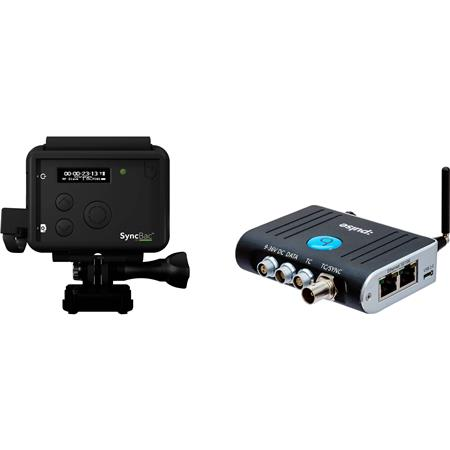 TimeCode Systems :pulse Multi-Functional Timecode Generator/Metadata Hub &  Device Control Center and 2x SyncBac PRO Timecode Sync System for GoPro