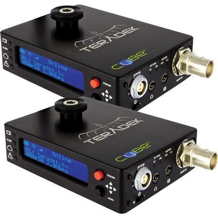 Teradek Cube 105/305 HD-SDI Encoder/Decoder Pair, Powered USB 2 0 Host Port