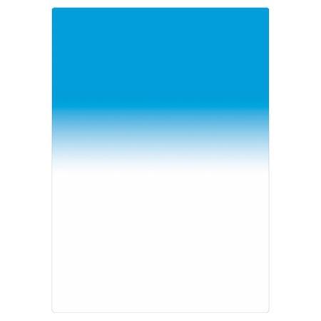 Tiffen 4x5.65 Blue 3 Soft Edge Graduated Filter Vertical Grad