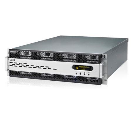 Thecus N16000PRO 2U Rackmount 16-Bay NAS Server, Intel Xeon E3-1275 3 4GHz,  8GB DDR3, 12xSATA Internal/1xeSATA External