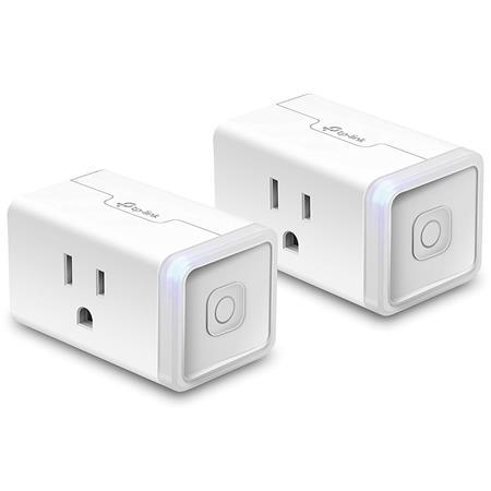 TP-Link HS105 Kasa Smart Wi-Fi Plug Mini, 2-Pack
