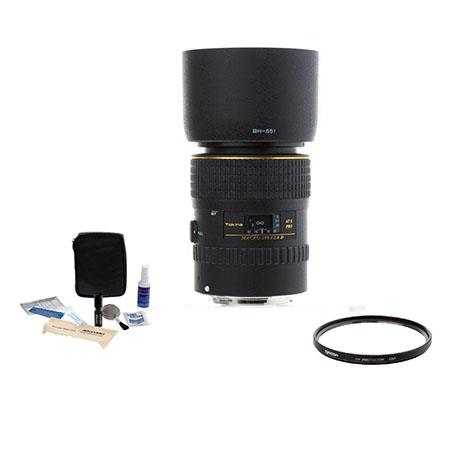 Tokina AT-X 100mm f2.8 Pro D Macro Lens for Canon BUNDLE ATXAF100PRODC A