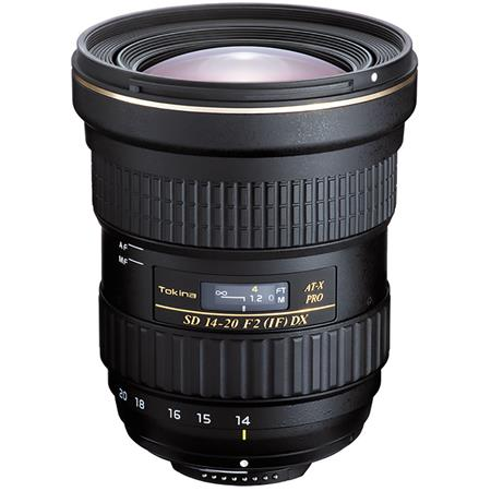 Tokina 14-20mm f/2.0 AT-X Pro DX Lens for Nikon + Lens Case