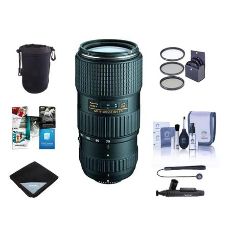 Tokina 70-200mm F/4 AT-X Pro FX VCMS f/Nikon DSLRs With Free ...