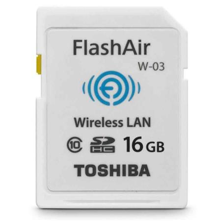 Toshiba 16GB Class 10 SDHC Memory Card