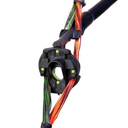 "Truglo Glo Brite Aperture Peep 3//16/"" Bow Sight Adjustable Green Insert TG79"