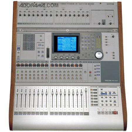 tascam dm 3200 digital console software control surface dm 3200. Black Bedroom Furniture Sets. Home Design Ideas