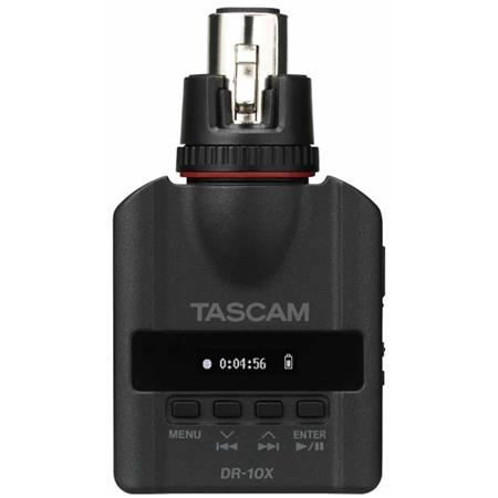 tascam dr 10x plug on micro linear pcm recorder for handheld xlr mics dr 10x. Black Bedroom Furniture Sets. Home Design Ideas