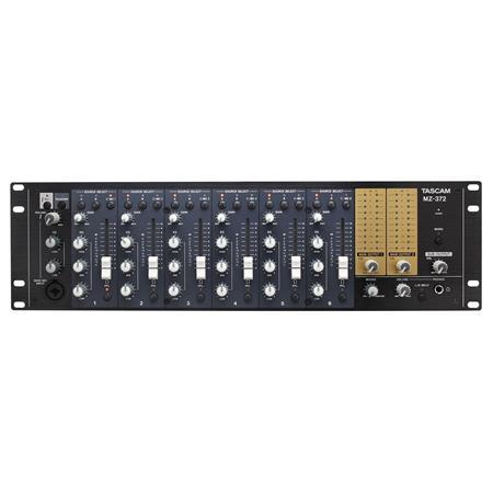 tascam mz 372 industrial grade 2 zone multi input rackmount mixertascam mz 372 picture 1 regular