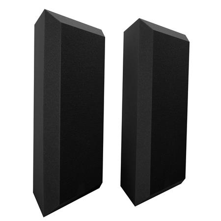 2-Pack Ultimate Acoustics Acoustic Bass Trap with Vinyl Coating
