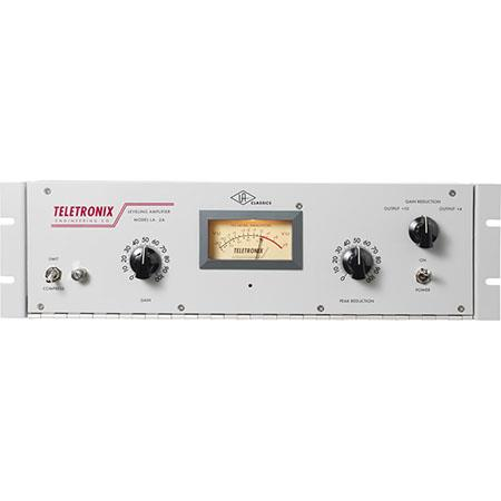 Universal Audio Teletronix Tube-Amplified T4 Electro-Optical Classic  LA-2A-Style Compressor/Limiter, 30Hz-15kHz Frequency Response, 40dB Gain,  600