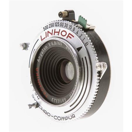 Linhof Technika Schneider SUPER-ANGULON 75mm f8 Lens in