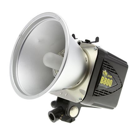 Paul C. Buff / Alienbees B800 Flash Unit Head (Black)