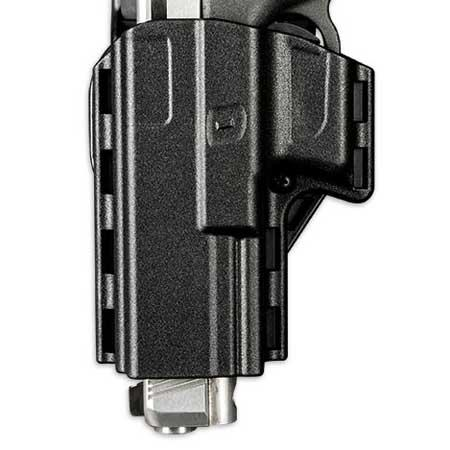 Uncle Mike's Competition Reflex Pistol Holster, Size 09, Left Hand, Black