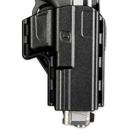 Uncle Mike's Competition Reflex Pistol Holster, Size 09, Right Hand, Black
