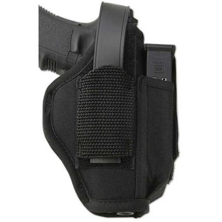 Uncle Mike S Sidekick Ambidextrous Large Auto Hip Holster With Mag Pouch Kodra Size 15 Black