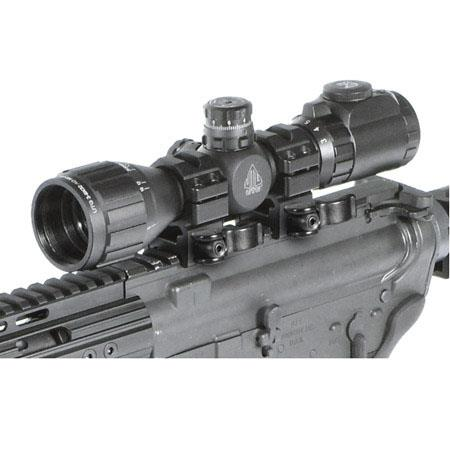 UTG 3-9x32 AO Compact CQB Bug Buster IE Riflescope, Matte Black Finish with  Illuminated Mil Dot Reticle, Target Turrets, Adjustable Objective & Rings,