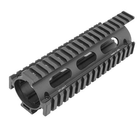 UTG Pro Model 4/15 Carbine Drop-in Quad Rail System with Extension Top Rail