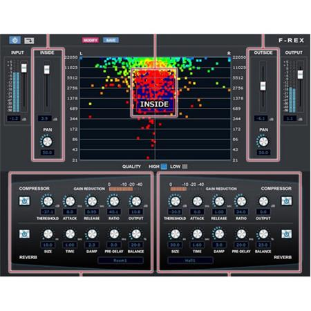 Vocaloid F-REX Audio Processor for Volume, Frequency and Panning,  Electronic Download