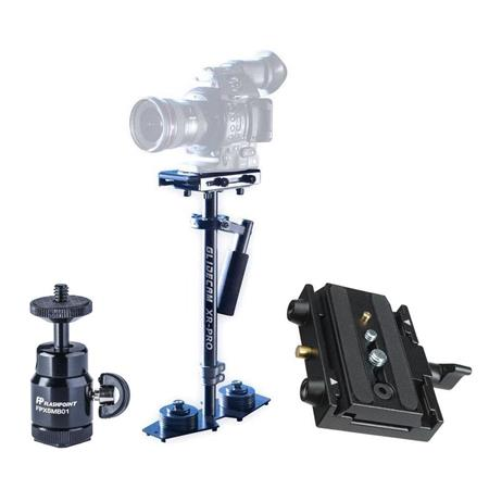 Acouto Stabilizer Extension Rod Handle Grid Holder for DJI Ronin-S Stabilizer Gimbal
