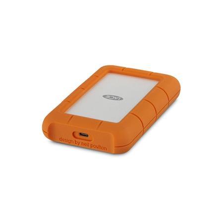 LaCie Rugged USB-C 3.0 5TB External Hard Drive #STFR5000800