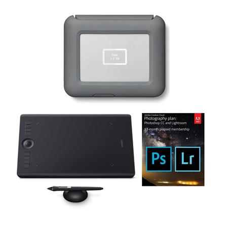 6abdec9a4 LaCie DJI Copilot BOSS Direct Backup 2TB W Wacom Intuos Pro Tablet ...