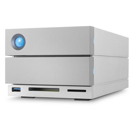 Lacie 2big Dock Thunderbolt 3 8tb 2x 4tb Dual Disk Raid Drive W 2tb Hard Drive