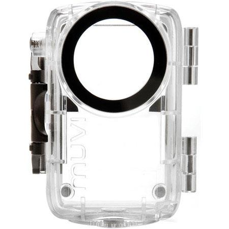 VCC-A010-WPC VEHO MUVI HD WATERPROOF CASE BLACK//CLEAR
