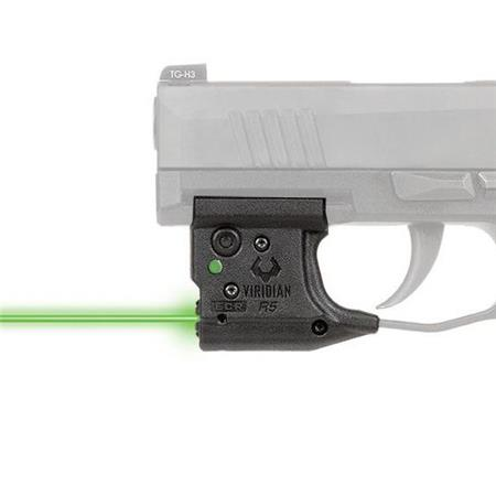 Viridian Reactor R5 Gen 2 Green Laser Sight for Sig Sauer P365 Pistol, ECR  INSTANT-ON Activation with Ambidextrous IWB Holster