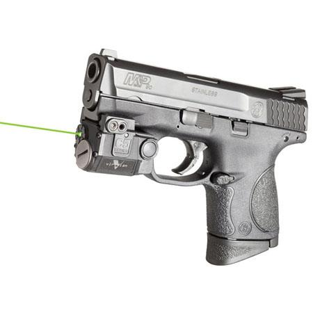 Viridian Green Laser Sub-Compact Sight with Universal Mount for Glock,  Springfield XD, Walther, Beretta, Colt, FNH & SIG Sauer