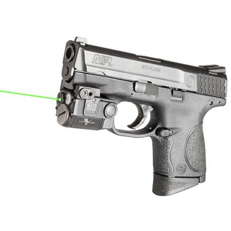 Viridian Universal Sub-Compact Green Laser Sight with Universal Mount and  Tactical Light (100 Lumens)