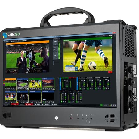 Used vMix GO 4 Portable System with PRO Live Production Software E