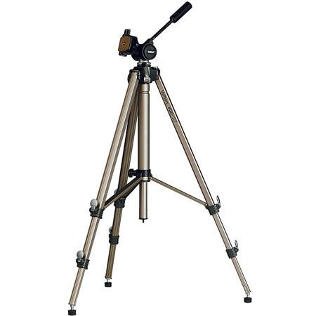 Velbon VGB 37 Tripod, with 3 Way Panhead, Geared Center