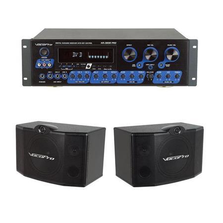 VocoPro KR-3808 Karaoke Receiver with Key Control With VocoPro SV