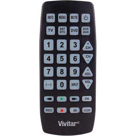 Vivitar Universal Remote Picture 1 Regular