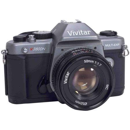 vivitar v3800n slr multi exposure camera 50 1 7 l viv v3800 50 rh adorama com Vivitar Lenses What Cameras Take Vivitar 35Mm Camera
