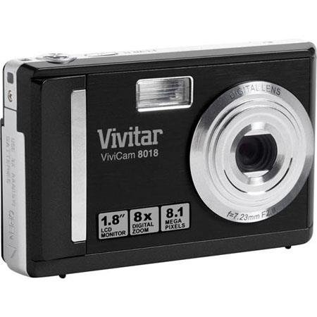 vivitar vivicam 8018 8 1mp digital camera black v8018 blk wg rh adorama com Digital Camera User Guide Sony Digital Camera
